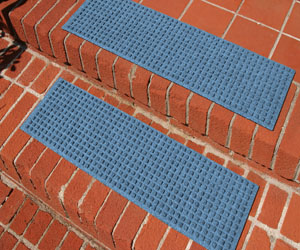 Waterhog Stair Treads - Square Pattern