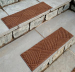 Waterhog Stair Treads - Diamond Pattern